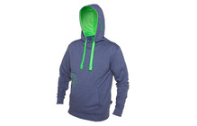 Local Flurry Hoody Men blue melange